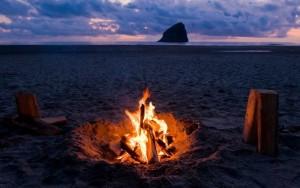 Cannon Beach Fire